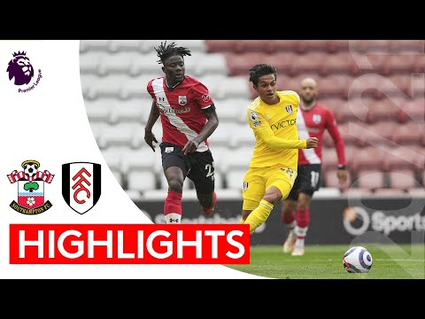 Southampton 3-1 Fulham   Premier League Highlights   Fabio Carvalho bags debut goal at St Mary's
