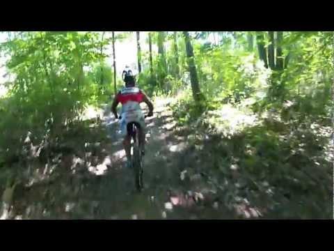 Mountain Biking in Greensboro - Blue Heron Trail