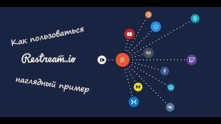Как сделать прямую трансляцию одновременно на Вконтакте, Фейсбук, Ютуб и т.д. Инструкция