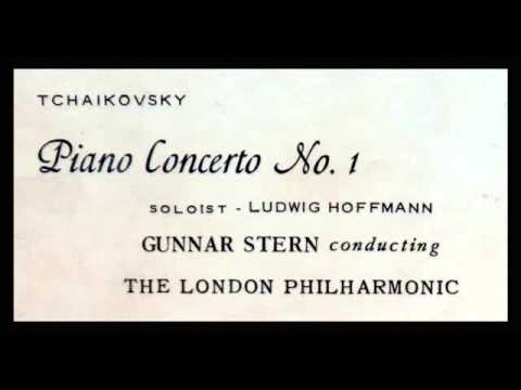 Tchaikovsky / Ludwig Hoffmann, 1950s: Piano Concerto No. 1 in B flat minor - Gunnar Staern, LPO