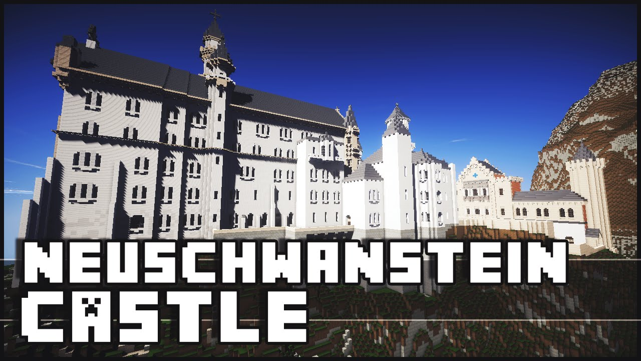 Minecraft Neuschwanstein Castle Youtube
