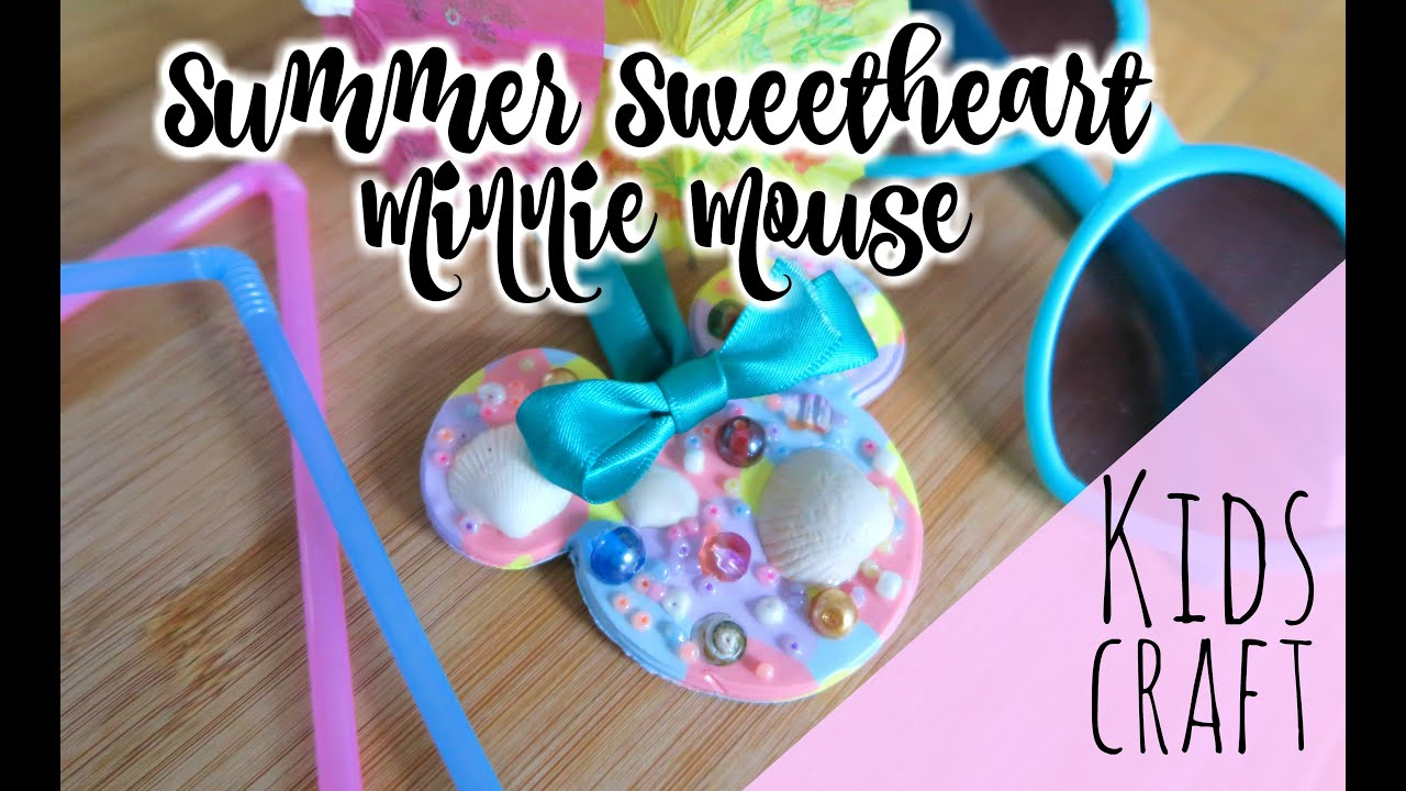 Minnie Mouse KIDS CRAFT colab with RED TED ART    Disney ... - photo#4