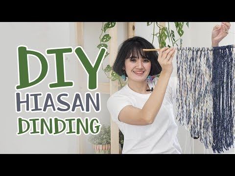 DIY Wall Decoration (Easy & Cheap) | MARTHA PURI - IDEKU HANDMADE (Bahasa Indonesia)