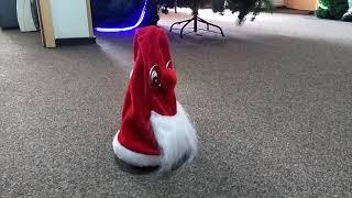 Видео обзор Колпак новогодний танцующий, 25 см