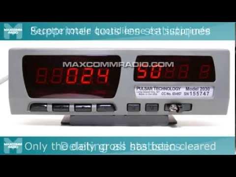 pulsar 2030 taxi meter instructions taxim tre pulsar 2030 mode d rh youtube com