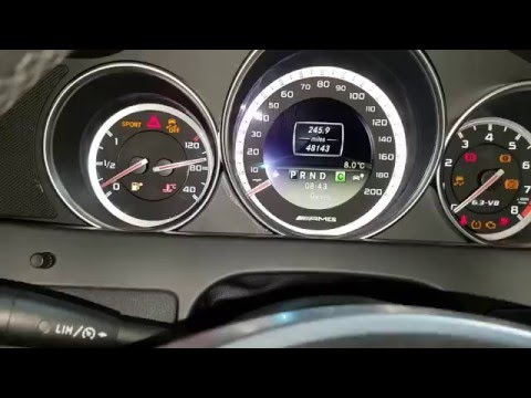 How to reset tyre pressure on Mercedes c63