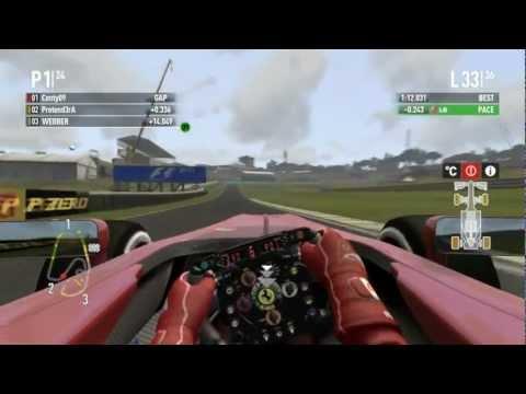 F1 2011 CO OP Season 2 Finale - Sao Paulo 50% race