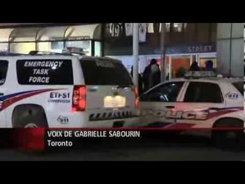 Des coups de feu dans le métro de Toronto, vendredi