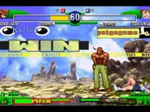 Street Fighter Alpha 3 - Paigegame vs Kaffey