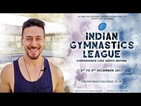 Indian Gymnastics League | Tiger Shroff