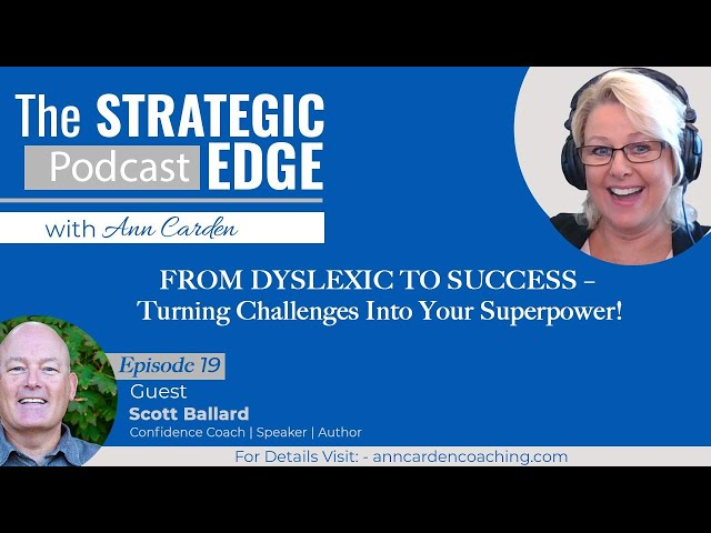 FROM DYSLEXIC TO SUCCESS – Turning Challenges Into Your Superpower!