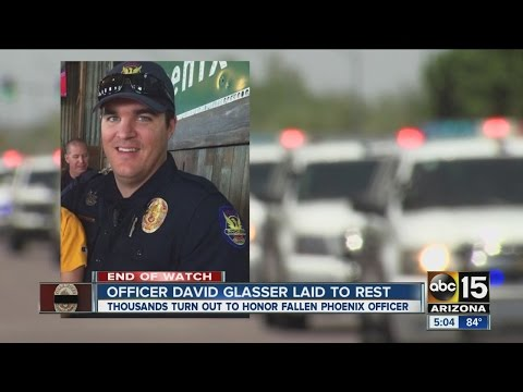 End of Watch: Remembering Phoenix Police Officer David Glasser