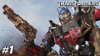 Transformers Dark of the Moon - Xbox 360 / PS3 Gameplay Playthrough - Chapter I PART 1