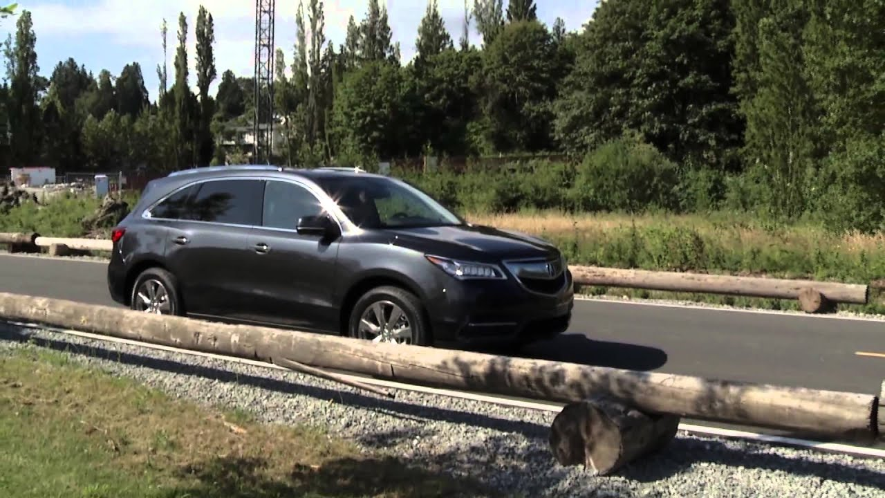Custom Rdx >> 2014 Acura MDX Front-Wheel Drive - YouTube