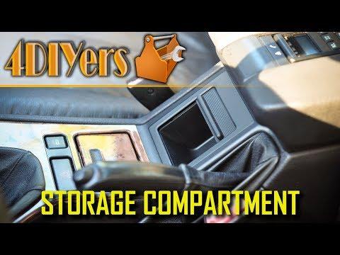 DIY: BMW E39 Center Console Storage Compartment Replacement