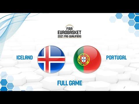 Iceland v Portugal - Full Game - FIBA EuroBasket 2021 Pre