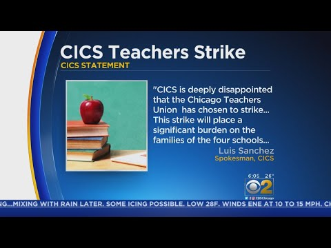 Strike At Chicago International Charter Schools