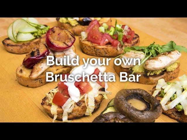 Build Your Own Bruschetta Bar