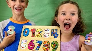 Learn English Numbers! Jojo Counts with Sign Post Kids!