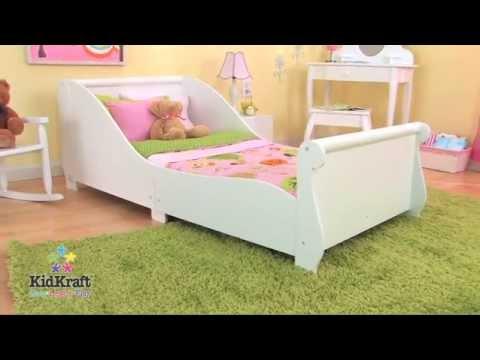 86730 kidkraft kleinkindbett weiss beim holzspielzeug. Black Bedroom Furniture Sets. Home Design Ideas
