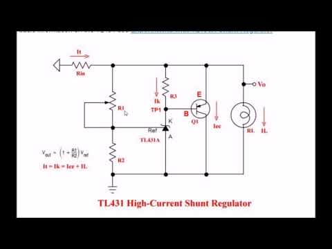 TL431 Shunt Regulator Circuits Explained - YouTube