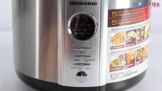 видео Обзор мультиварки-скороварки Redmond RMC M4504 + отзывы