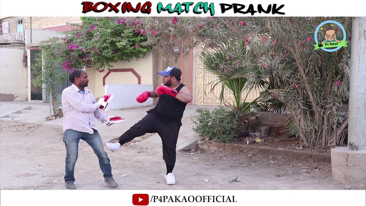 | Boxing Match Prank | By Nadir Ali In | P4 Pakao | 2019