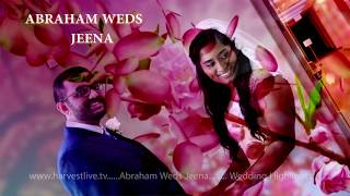 Abraham Jeena Wedding Highlights