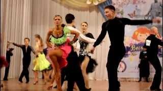 """Фестиваль бальных танцев """"Веснушка"""" Воткинск. март 2012"""