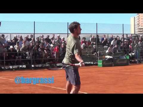 Stan Wawrinka warm up in Monte Carlo 2016