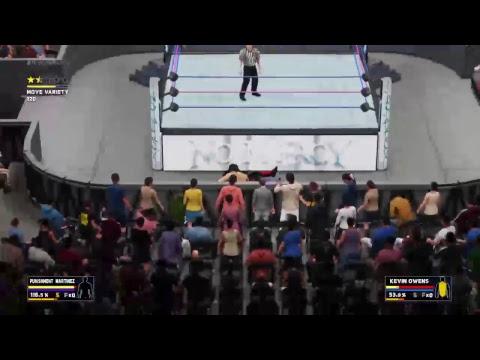 F'N Marks wrestling.....Wwe2k 18 episode  32 no mercy ppv