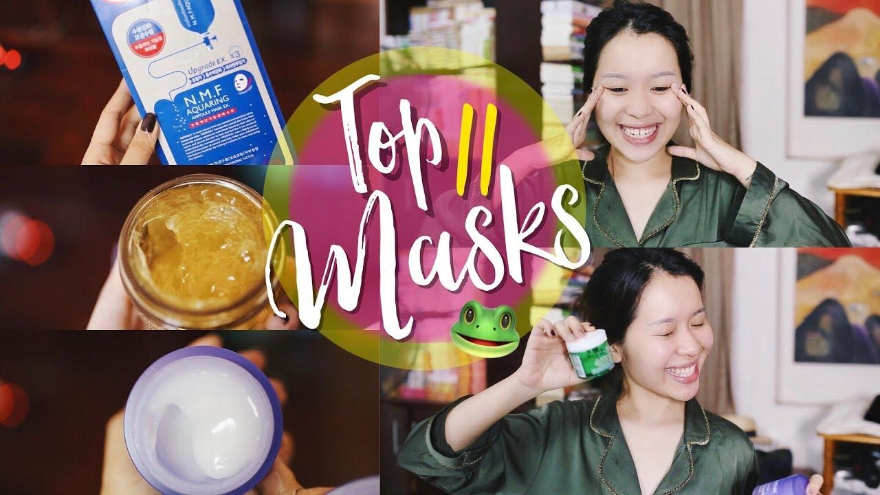11 mặt nạ đỉnh cao | MY FAVORITE MASKS | Letsplaymakeup
