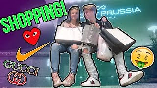 SHOPPING AT THE BIGGEST MALL IN AMERICA!! (With my GF!)