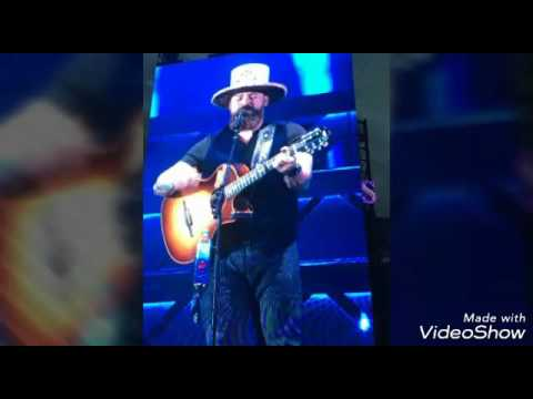 Zac Brown Denver Concert Pictures Michell Carico Play List