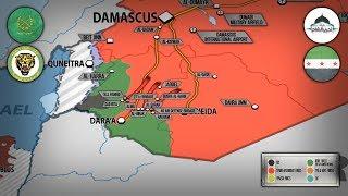 29 июня 2018. Военная обстановка в Сирии. Крупное продвижение сирийской армии на юге Сирии.