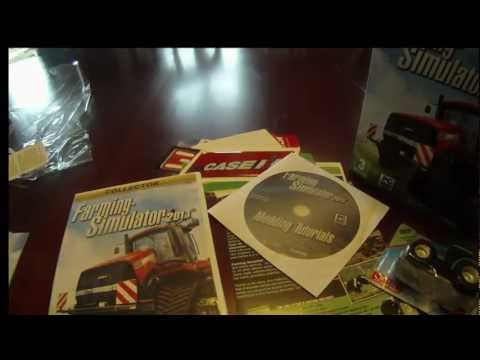 Farming Simulator 2013 Collector's Edition UNBOXING