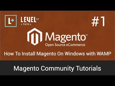 Magento Community Tutorials #1 - How To Install Magento On Windows With WAMP