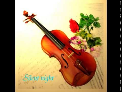 Violin music - Christmas song - Silent night instrumental - piano and violin duet