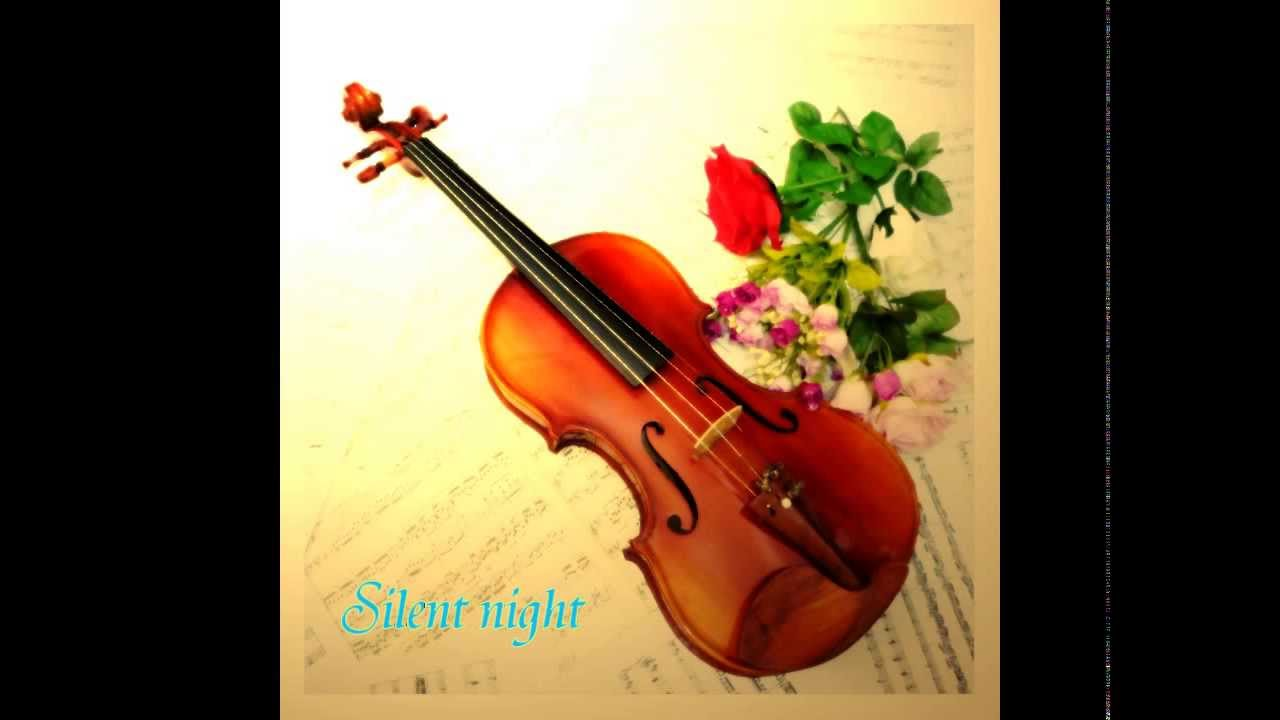 violin music christmas song silent night instrument