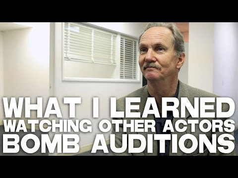 What I Learned Watching Other Actors Bomb Auditions by Michael O'Neill