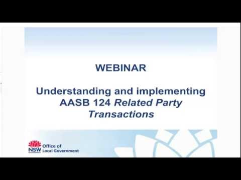 Understanding and Implementing AASB 124 - Related Party Transactions