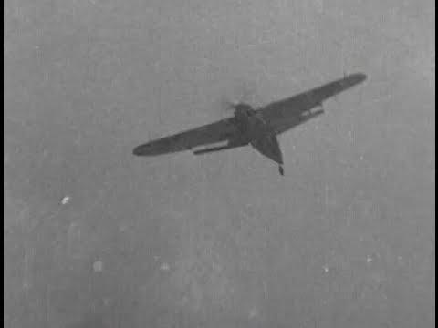 Gun Camera - School of Air Combat, Fleet Air Arm, Royal Navy. 1944