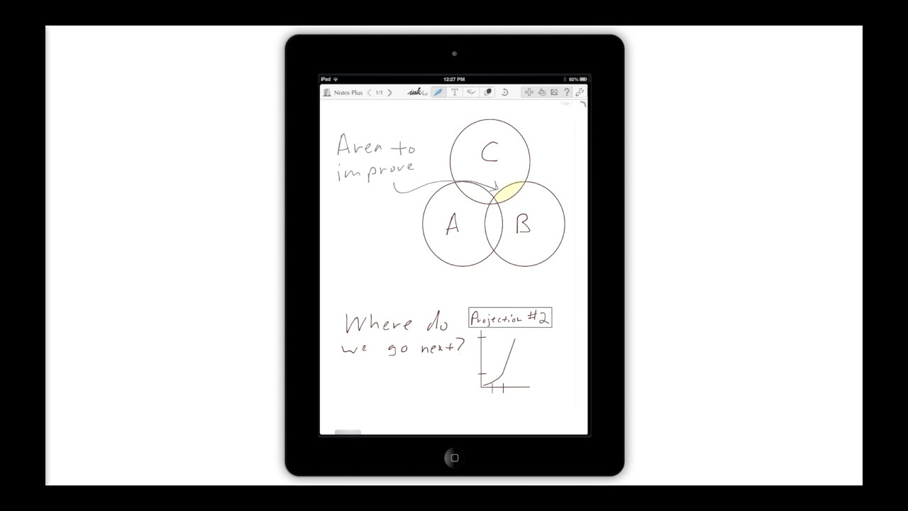 MyScript Nebo vs  Notes Plus Handwriting Apps | EE Times