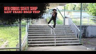 Red Curbs Skate Shop - Last Years Road Trip