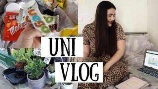 UNI VLOG | Spontaneous Shopping, Random Haul & Exciting Opportunities!