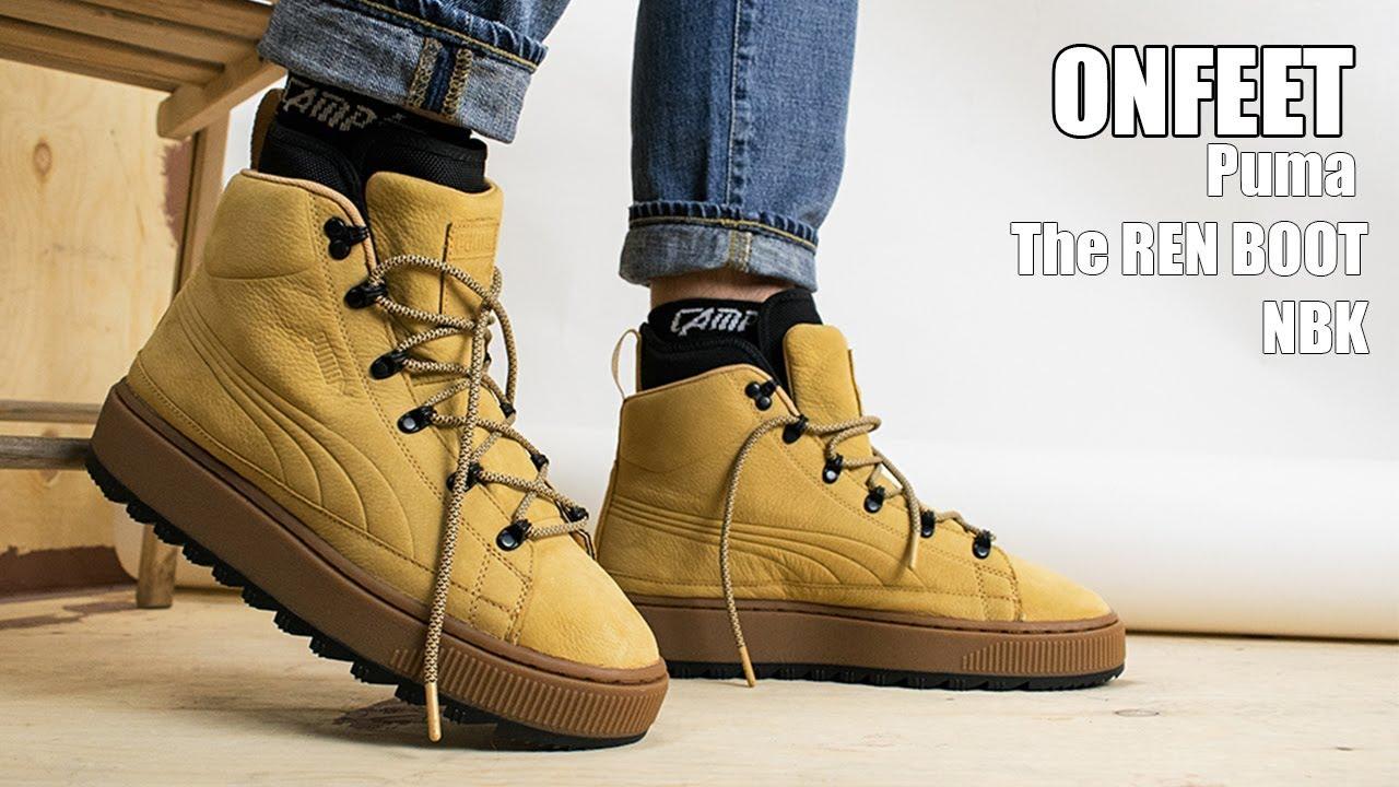 5e595b2b0d4 ONFEET Puma The Ren Boot NBK