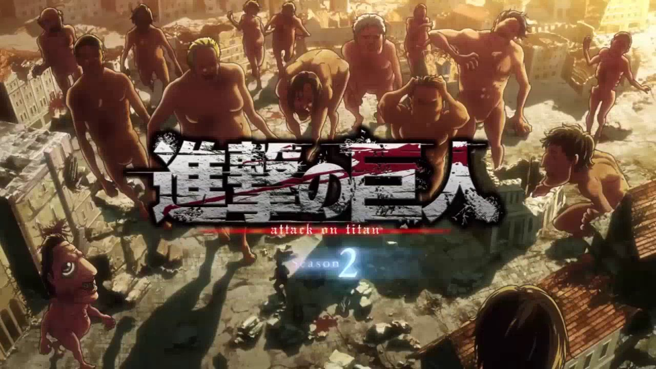 Attack on Titans Full Opening 1 and 2 - YouTube