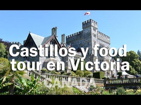 Hatley Castle, Craigdarroch Castle Y Food Tour En Victoria - CANADA