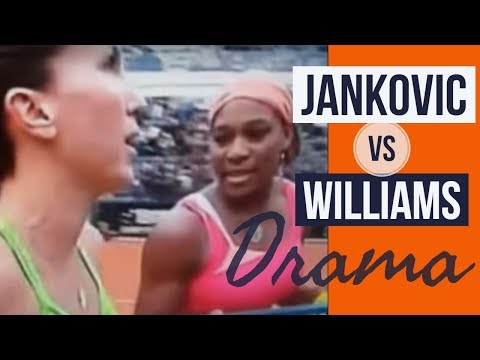 Serena Williams vs Jelena Jankovic Tennis Drama, catfights