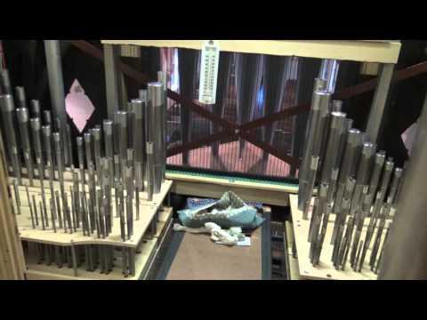 "C.B. Fisk Organ Tour, Opus 145 - ""Behind the Facade"""